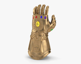 Thanos Infinity Gauntlet 3D model