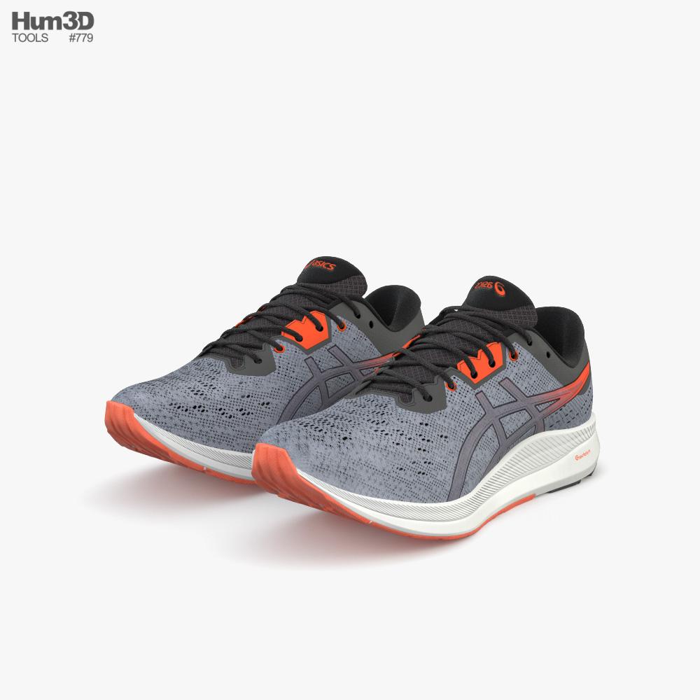 Asics Running Shoes 3D model