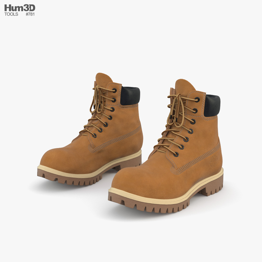 Timberland Boots 3D model