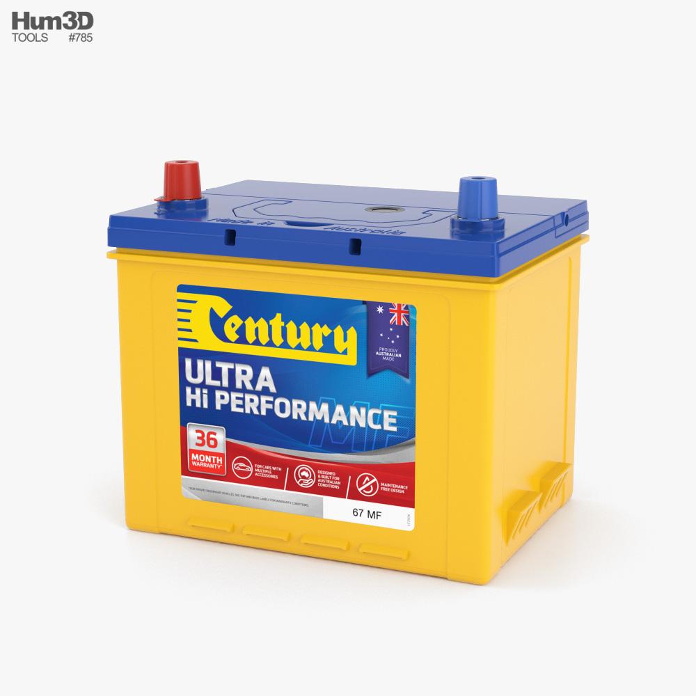Century Car Battery 3D model