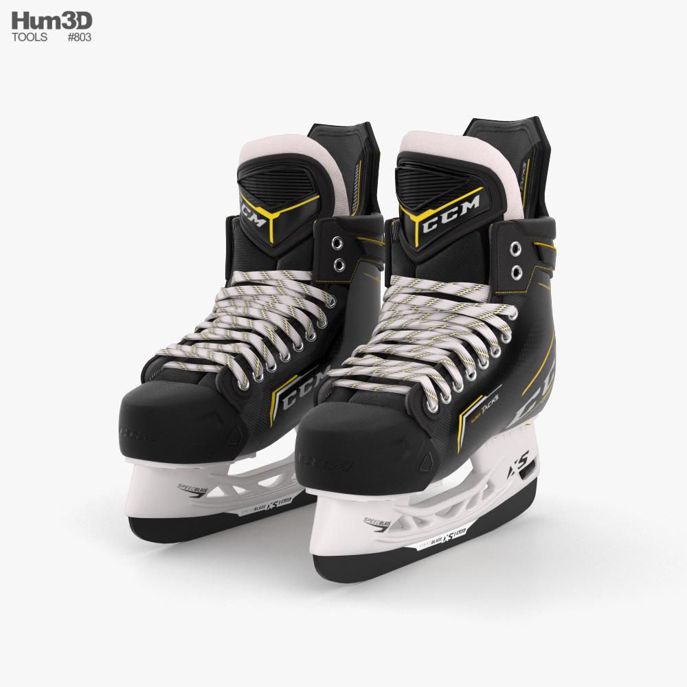 Ice Hockey Skates 3D model