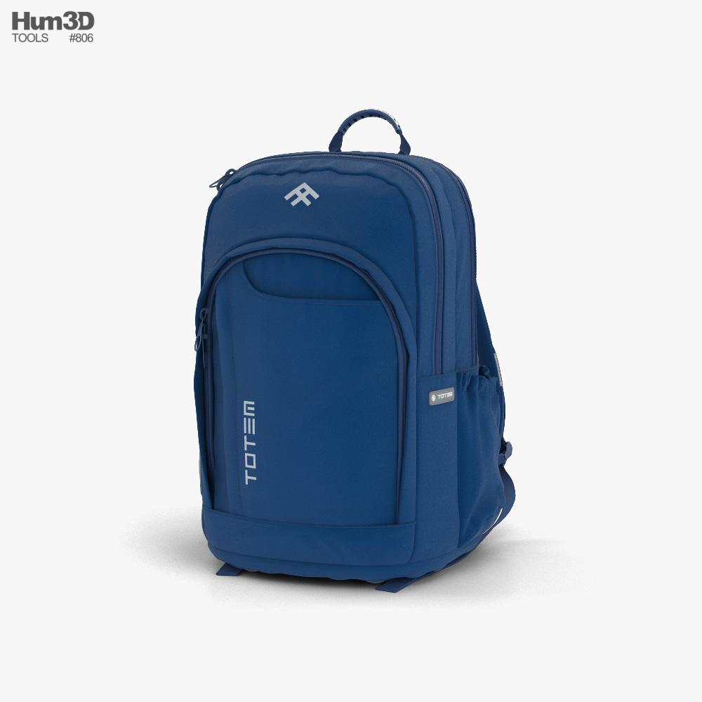 Totem Backpack 3d model