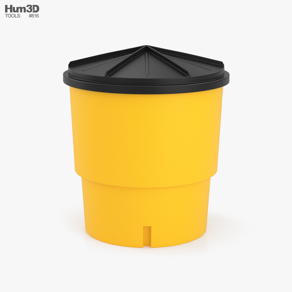 Sand Barrel type 2 3D model