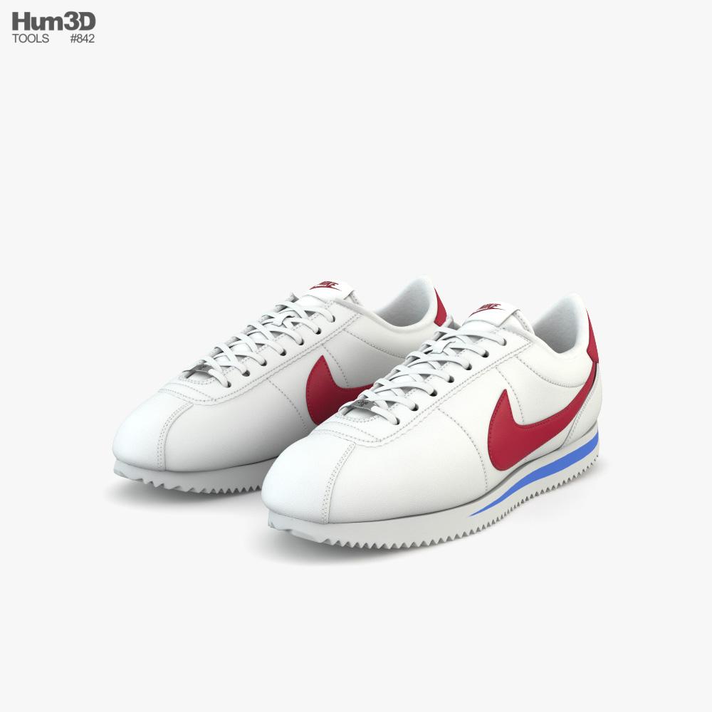 Nike Cortez 3D model