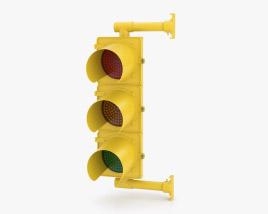 Traffic Light NY Style 3D model
