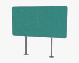 Highway Sign Modelo 3D