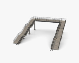 Footbridge 3D model