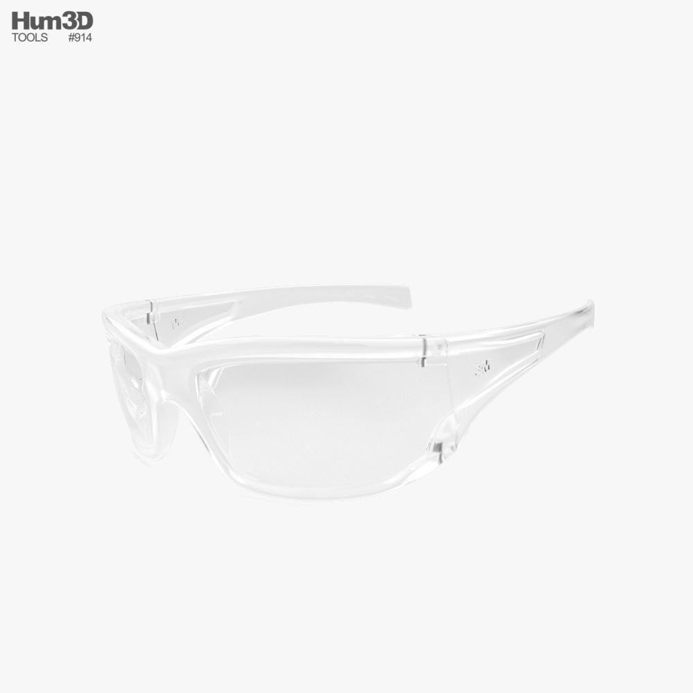 3M Virtua AP Safety Glasses 3D model
