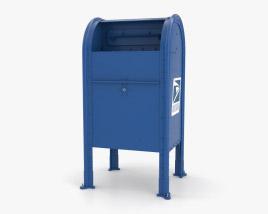 Post Box NYC Style 3D model