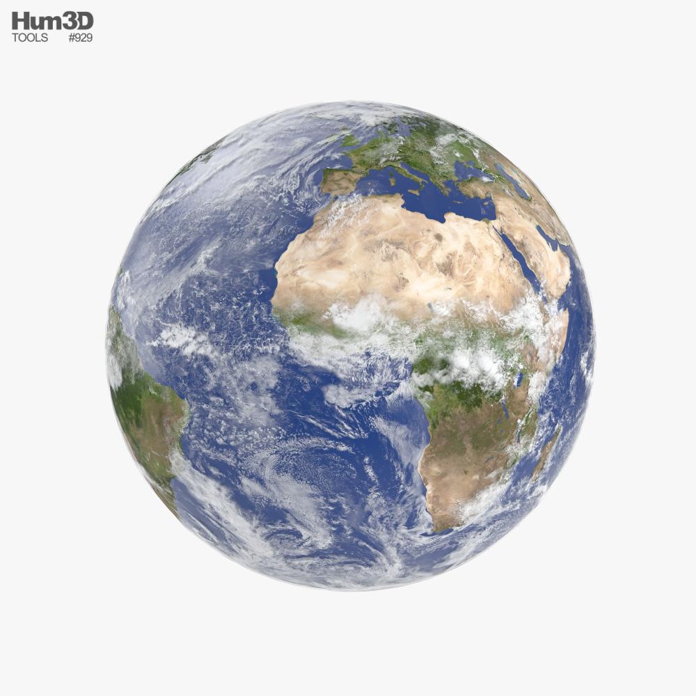 地球 3Dモデル