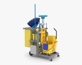 清洁工具 3D模型