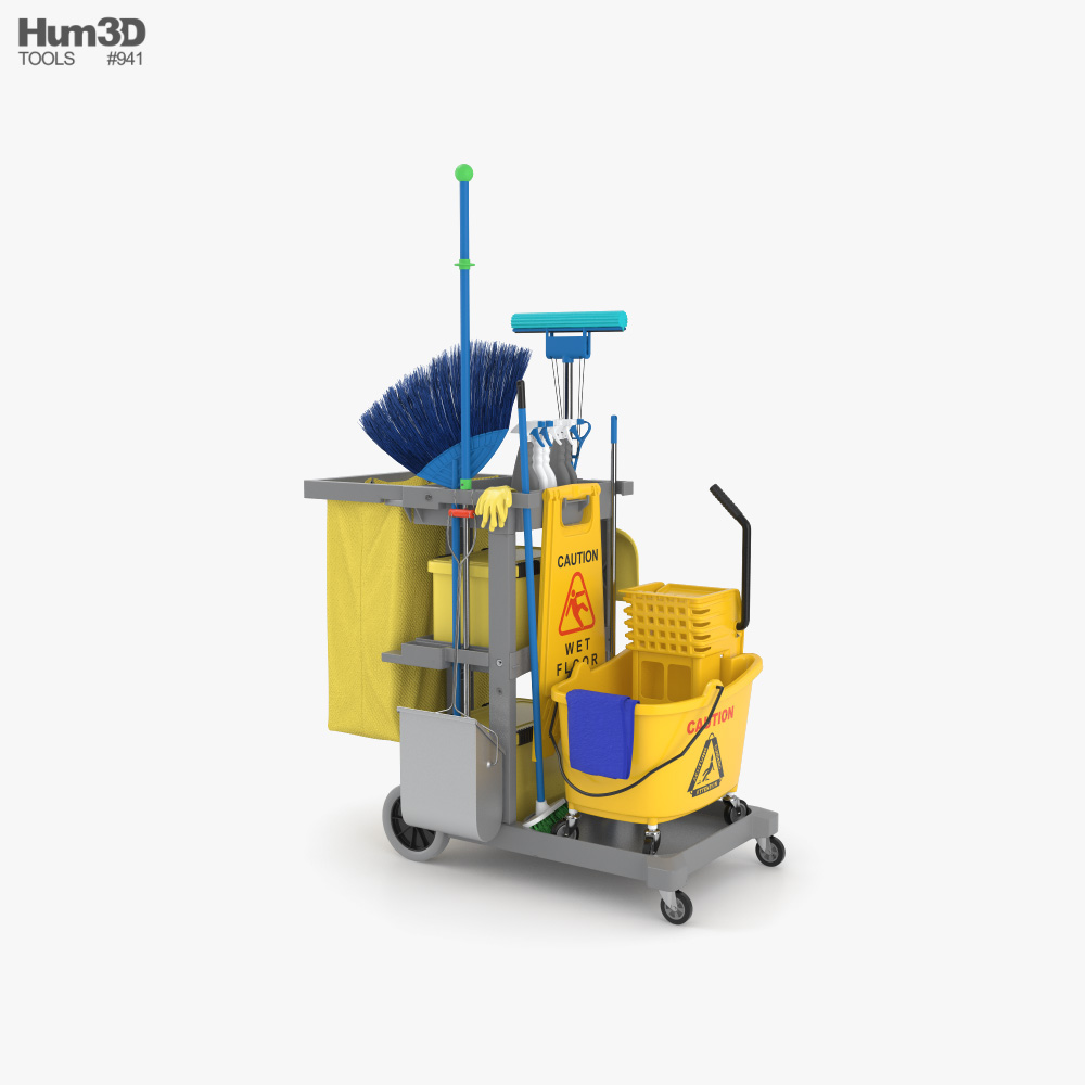 Cleaning Equipment 3D model
