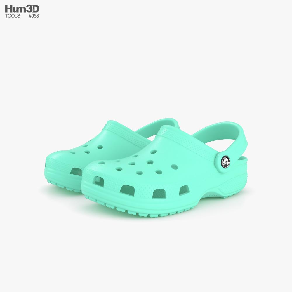 Crocs Classic Clog 3D model