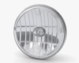 Optical Reflector LED Headlight 3D model