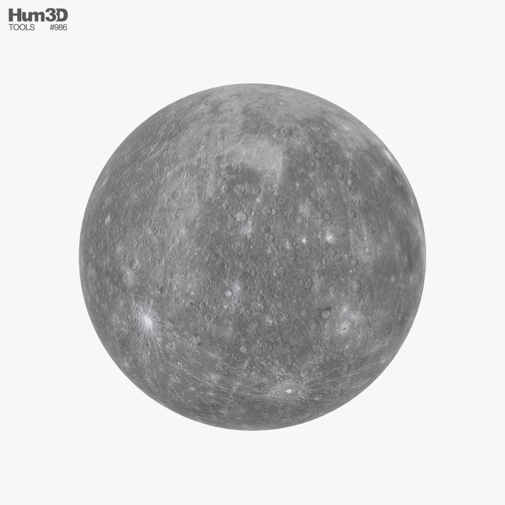Mercury 3D model