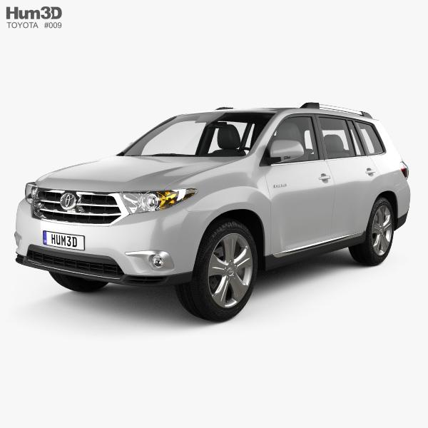 Toyota Highlander 2011 3D model