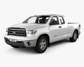 3D model of Toyota Tundra Double Cab 2011