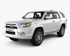 3D model of Toyota 4Runner 2011