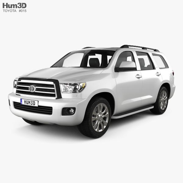 Toyota Sequoia 2011 3D model