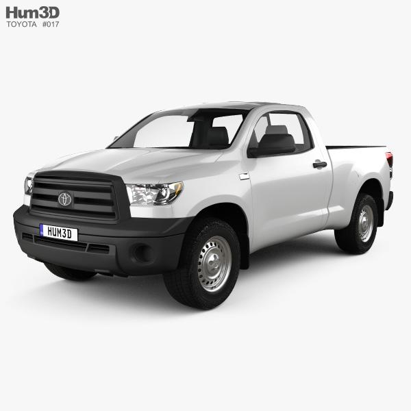 Toyota Tundra Regular Cab 2011 3D model