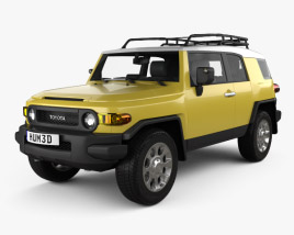 Toyota FJ Cruiser 2011 3D model