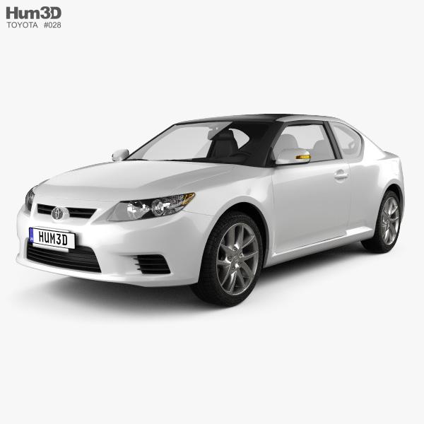 Toyota Zelas 2011 3D model