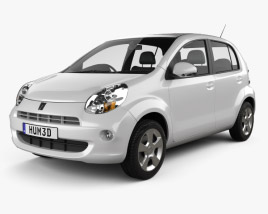 3D model of Toyota Passo 2012