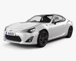 3D model of Toyota GT 86 2013