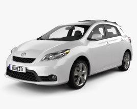 3D model of Toyota Matrix (Voltz) 2011