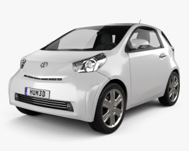 3D model of Toyota IQ 2009