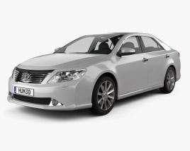 3D model of Toyota Camry EU (Aurion) 2012