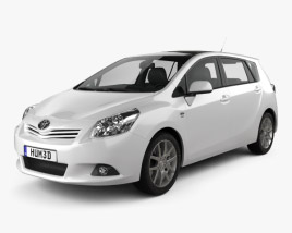 3D model of Toyota Verso (E'Z) 2012