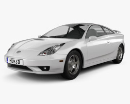3D model of Toyota Celica GT-S 2006