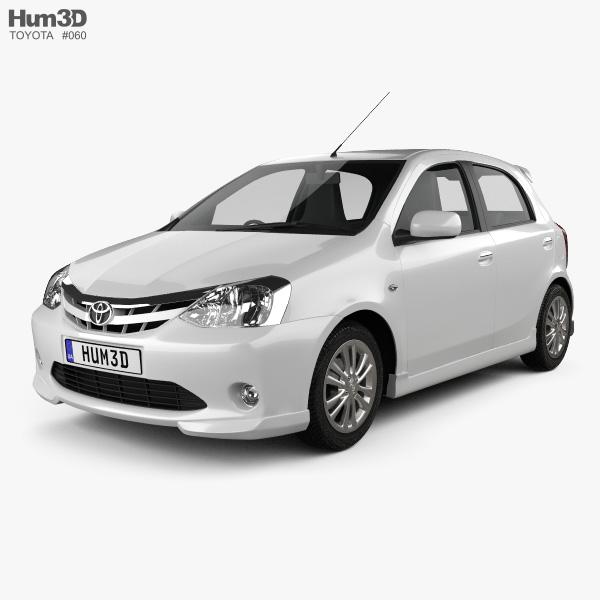 Toyota Etios Liva 2012 3D model