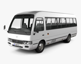 3D model of Toyota Coaster B50 2012