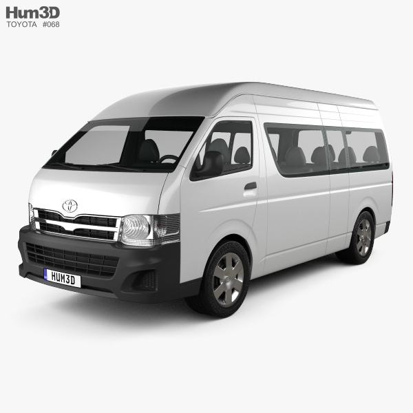 Toyota HiAce Super Long Wheel Base 2012 3D model