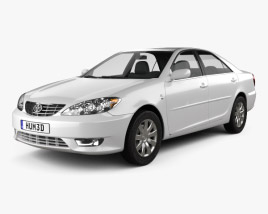 3D model of Toyota Camry (XV30) 2004