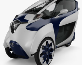 3D model of Toyota i-Road 2013