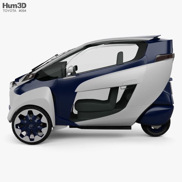 Toyota i-Road 2013 3D model