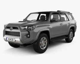 3D model of Toyota 4Runner 2013