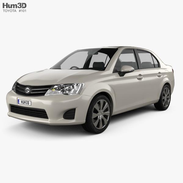 Toyota Corolla Axio 2012 3D model