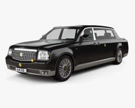 3D model of Toyota Century Royal 2006