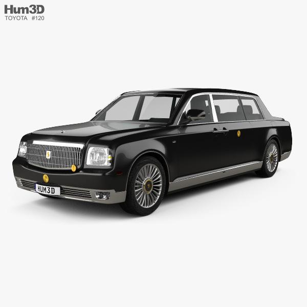 Toyota Century Royal 2006 3D model