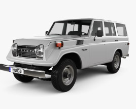 3D model of Toyota Land Cruiser (J55) 1975