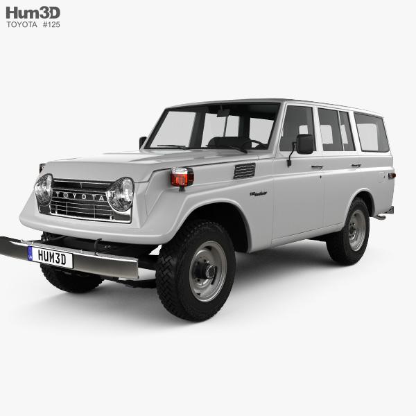 Toyota Land Cruiser (J55) 1975 3D model