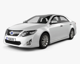 3D model of Toyota Camry Hybrid 2011