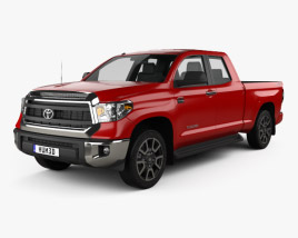3D model of Toyota Tundra Double Cab 2013