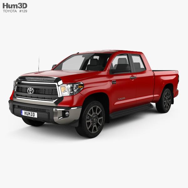 Toyota Tundra Double Cab 2013 3D model