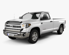 3D model of Toyota Tundra Single Max 2013