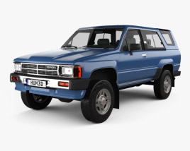 3D model of Toyota 4Runner 1986